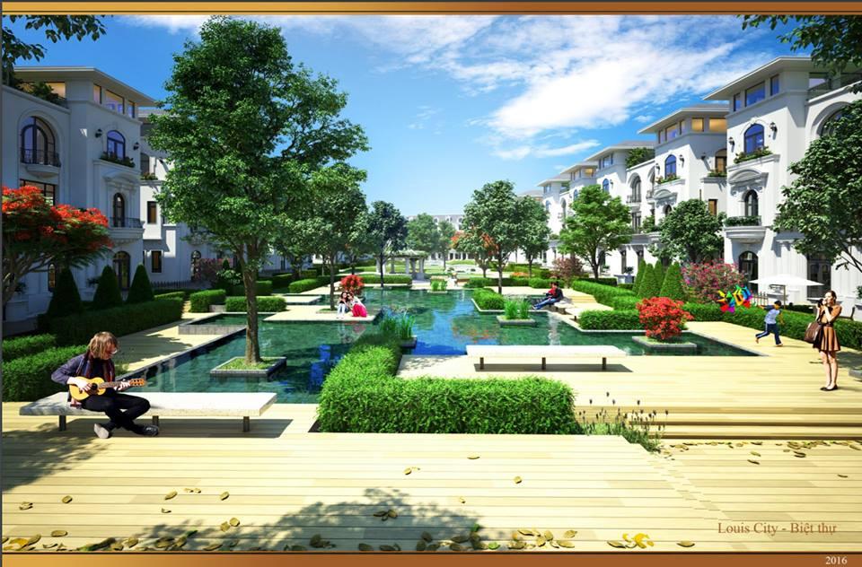 Liền kề Louis City, giá chỉ từ 3.9 tỷ/lô - đường Lê Quang Đạo 18766010