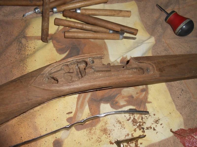 Reconstruction d'un mousqueton modèle 1786 Dscn1311