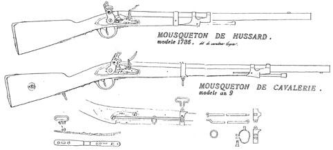 Reconstruction d'un mousqueton modèle 1786 Transf10