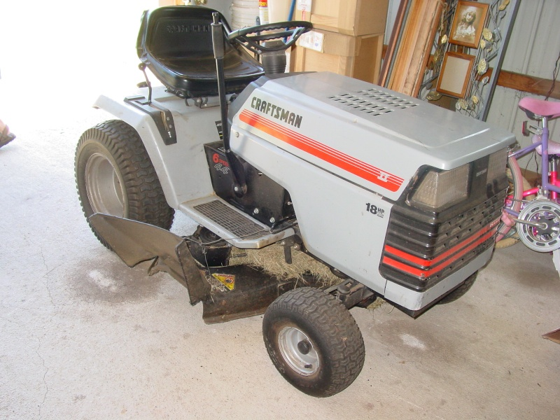 Craftsman GT II  My first AT Tractor Almost11