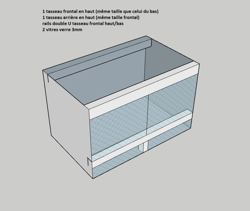 Construction  d'un terrarium pour mon gecko - Page 2 Avance10