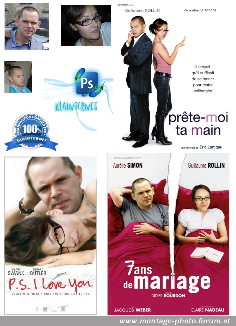 Anniversaire de moi même, affiches cinéma pour film montage Affich11