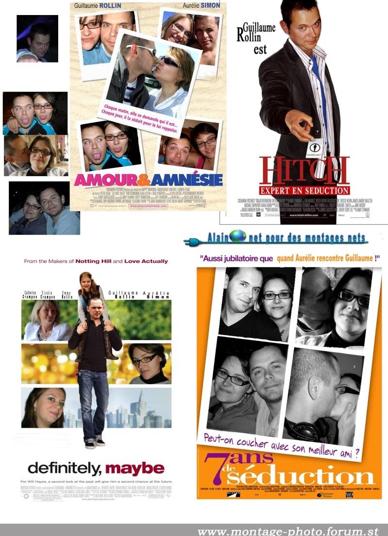 Anniversaire de moi même, affiches cinéma pour film montage Cinema11