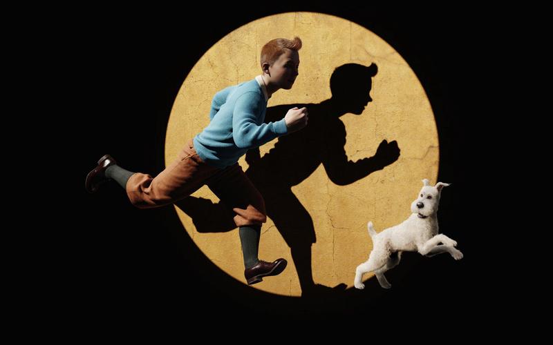 Anniversaire de mon jumeux, affiches cinéma pour film montage Tintin11