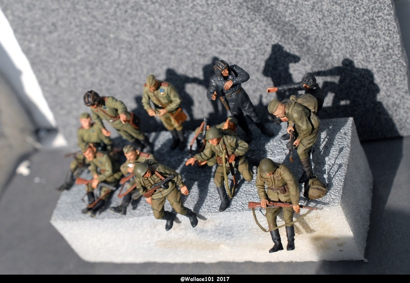 Soviet tank crew finis Masterbox 1/35 Dsc_0711
