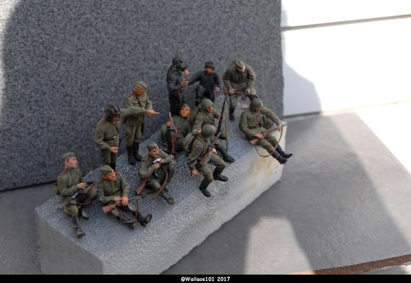Soviet tank crew finis Masterbox 1/35 Dsc_0712