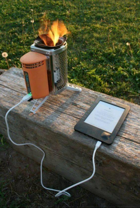 Réchaud et recharge USB  16711610
