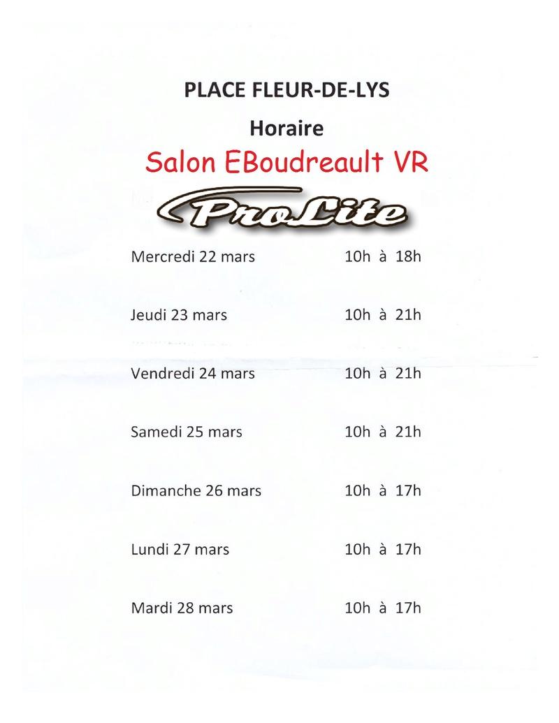 QUÉBEC- SALON DU VR E.BOUDREAULT -QUÉBEC - 22 AU 28 MARS 2017 2017-010