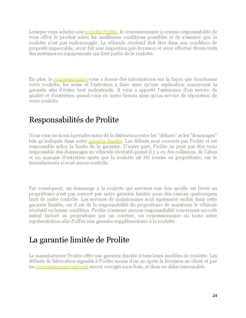 Manuel Prolite Prolit70