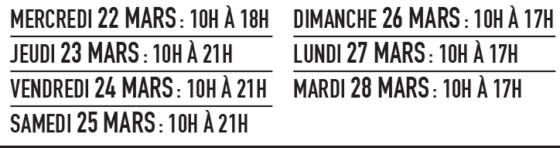 QUÉBEC- SALON DU VR E.BOUDREAULT -QUÉBEC - 22 AU 28 MARS 2017 Untitl10