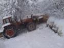 Trattori con vomero oppure lama da neve. Foto1512