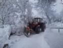 Trattori con vomero oppure lama da neve. Foto1513