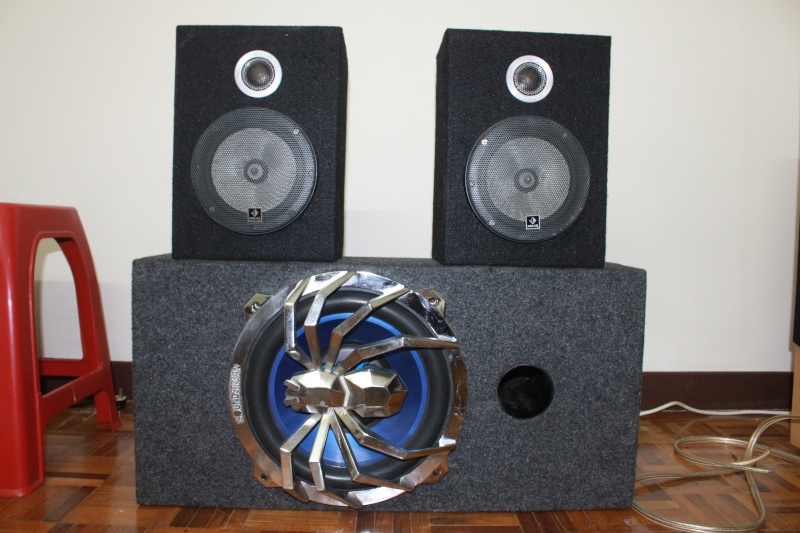 Soundstream car speakers . (Used) Img_2411