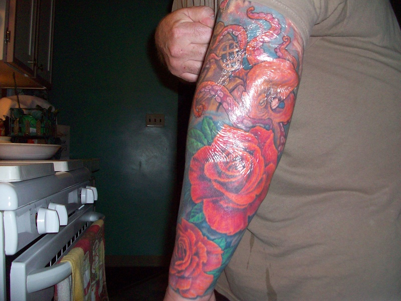 Speaking of tattoos just decided what my next one will be...I got it done today...:-)... 208_9411