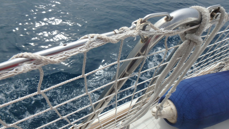 Filets de filières sur nos voiliers modernes P4100010