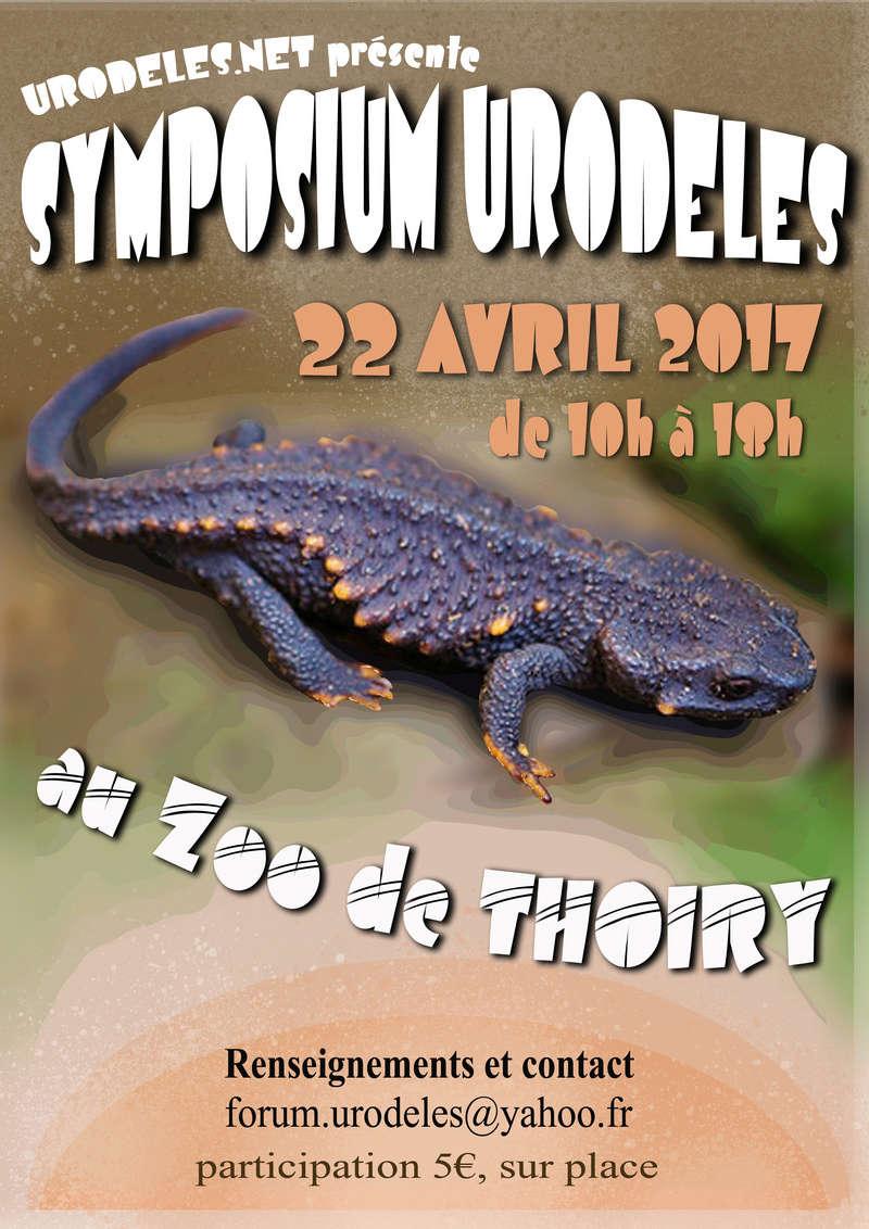 5ème Symposium Urodèles à Thoiry Affich10