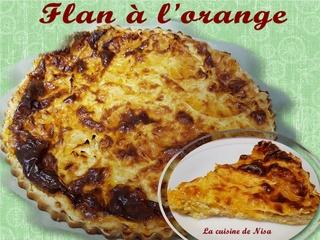 Flan à l'orange Flan_y10