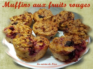 Muffins aux fruits rouges Muffin11