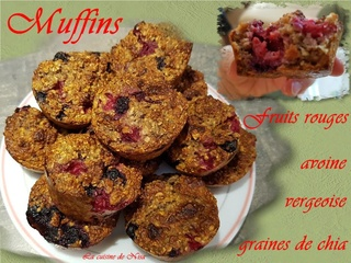 Muffins aux fruits rouges Muffin12