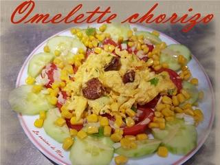 Omelette chorizo Omelet10
