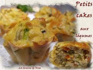 Petits cakes aux légumes Petits10