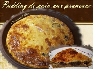Pudding de pain aux pruneaux Puddin10