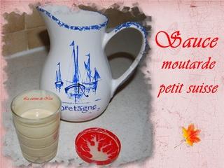 Sauce moutarde au petit suisse Sauce_10