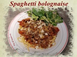 Spaghetti bolognaise Spaghe10