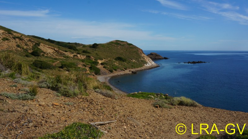 Voyage à Minorque, mai 2017 - 1 :  Dimanche 14 mai : Cala Tirant, Santa Teresa   Dsc05221