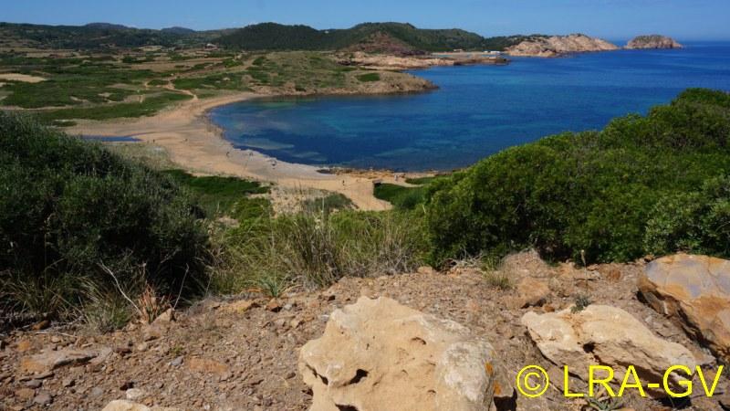 Voyage à Minorque, mai 2017 - 1 :  Dimanche 14 mai : Cala Tirant, Santa Teresa   Dsc05314