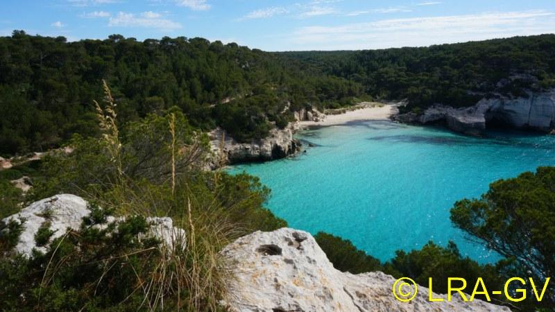 Voyage à Minorque, mai 2017 - 5 : Jeudi 18 mai : Cala Mitjana, Cala Trebaluger  Dsc05725