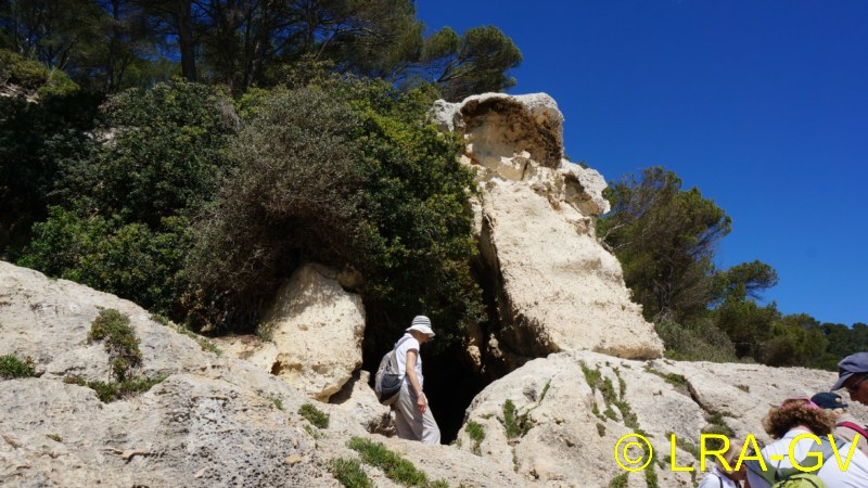 Voyage à Minorque, mai 2017 - 5 : Jeudi 18 mai : Cala Mitjana, Cala Trebaluger  Dsc05817