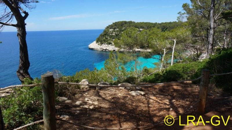 Voyage à Minorque, mai 2017 - 5 : Jeudi 18 mai : Cala Mitjana, Cala Trebaluger  Dsc05820
