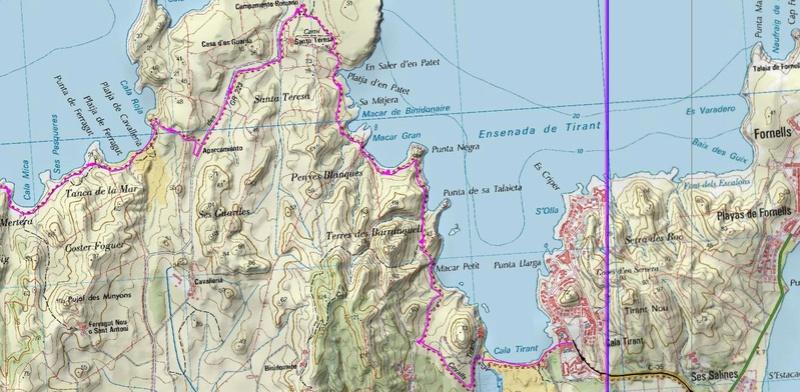 Voyage à Minorque, mai 2017 - 1 :  Dimanche 14 mai : Cala Tirant, Santa Teresa   Rando-12