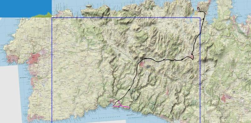 Voyage à Minorque, mai 2017 - 5 : Jeudi 18 mai : Cala Mitjana, Cala Trebaluger  Rando-25