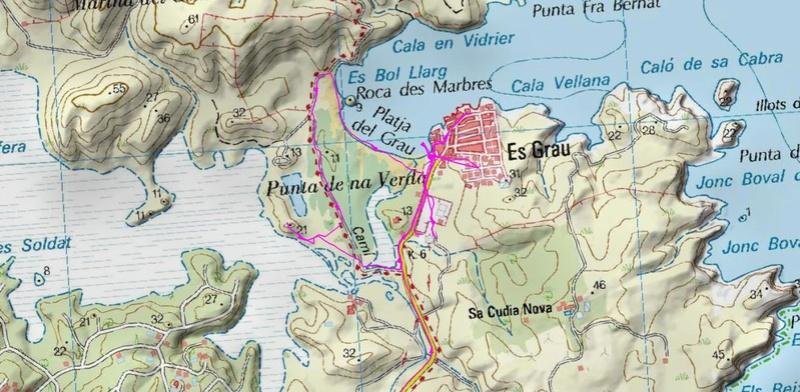Voyage à Minorque, mai 2017 - 6 : Vendredi 19 mai : Sa Mesquiba , Es Grau Rando-27