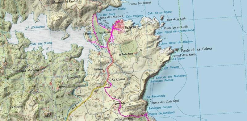 Voyage à Minorque, mai 2017 - 6 : Vendredi 19 mai : Sa Mesquiba , Es Grau Rando-28