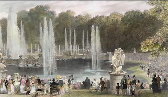 Vues anciennes du Château de Versailles et de son Domaine - Page 2 T0000010
