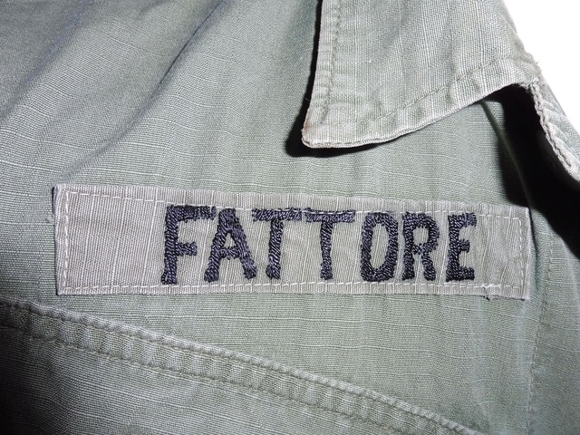 1st Division jungle jacket  with CIB Fattor12