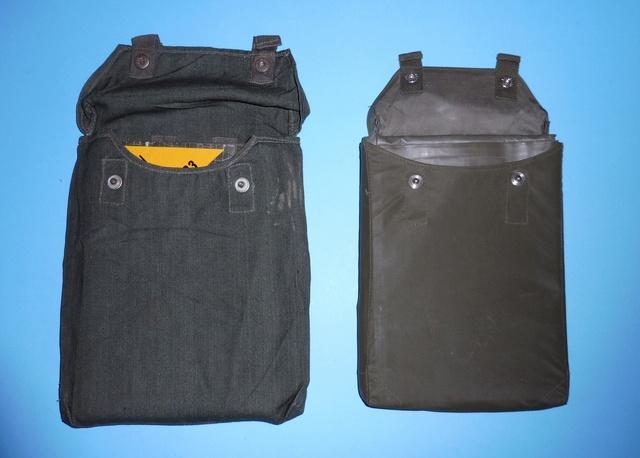 Early BW anti-gas sheet pouch  P1050211