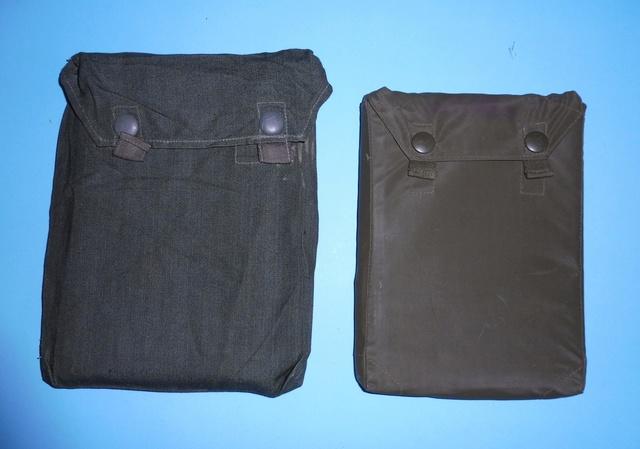 Early BW anti-gas sheet pouch  P1050212