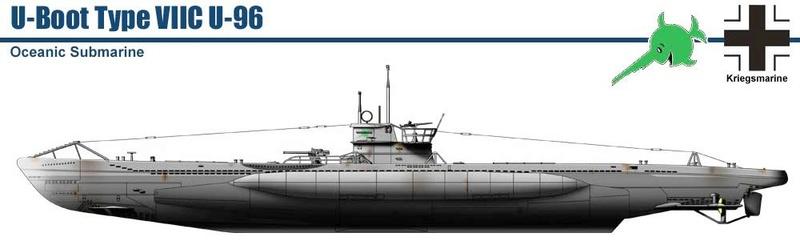 Sous-marins Allemands (Planches de Vincent Bourguignon). 264