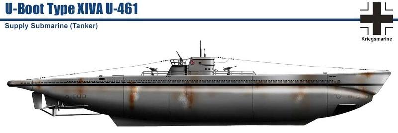 Sous-marins Allemands (Planches de Vincent Bourguignon). 557