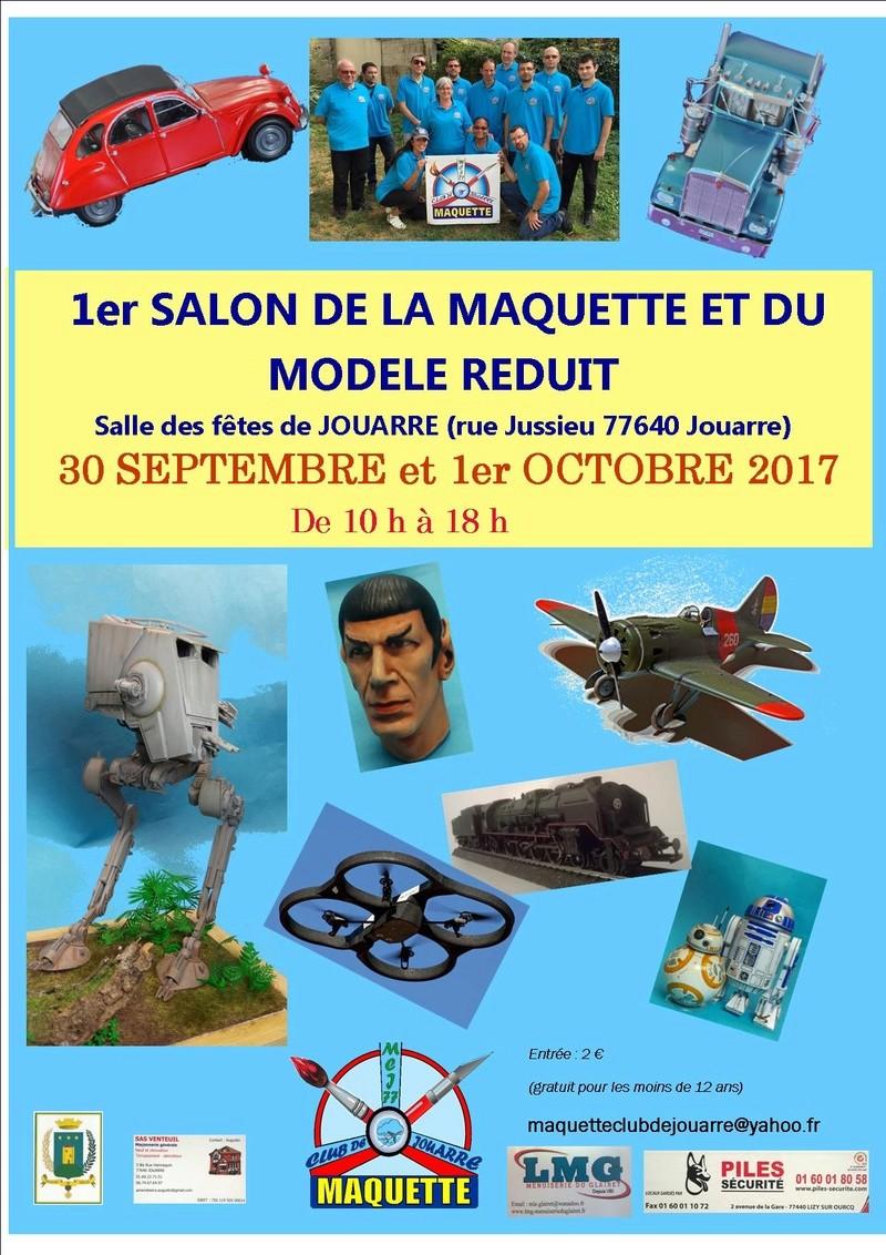 1ère exposition du maquette club de jouarre (77) Affich15