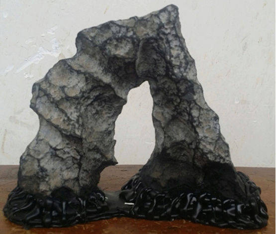 you can make simple stands for your small stones within one hour by yourself Ba_yin10