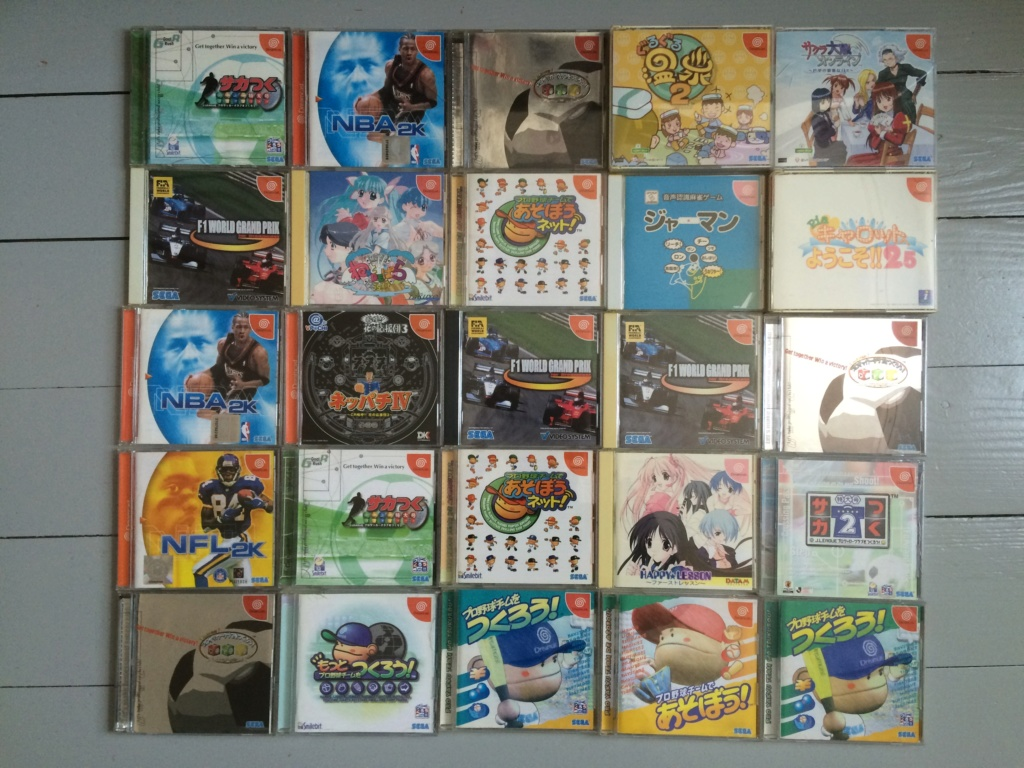 [ VDS ] Gros lot de 60 jeux Sega Dreamcast JAP  Img_3310