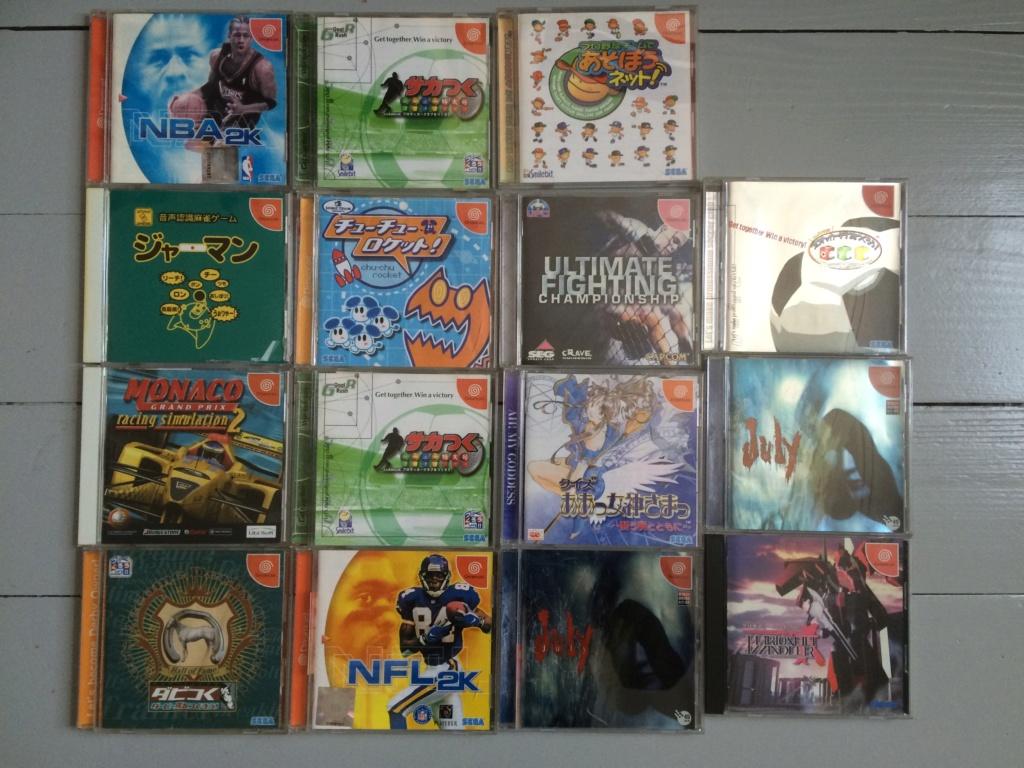 [ VDS ] Gros lot de 60 jeux Sega Dreamcast JAP  Img_3311