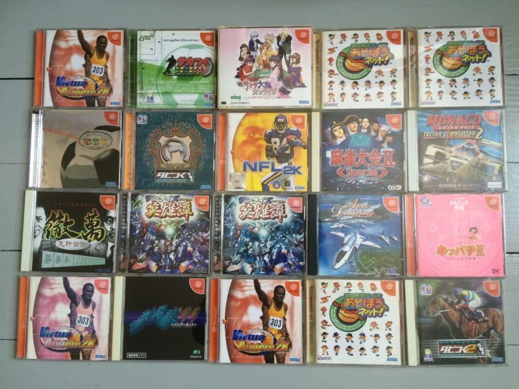 [ VDS ] Gros lot de 60 jeux Sega Dreamcast JAP  Img_3312