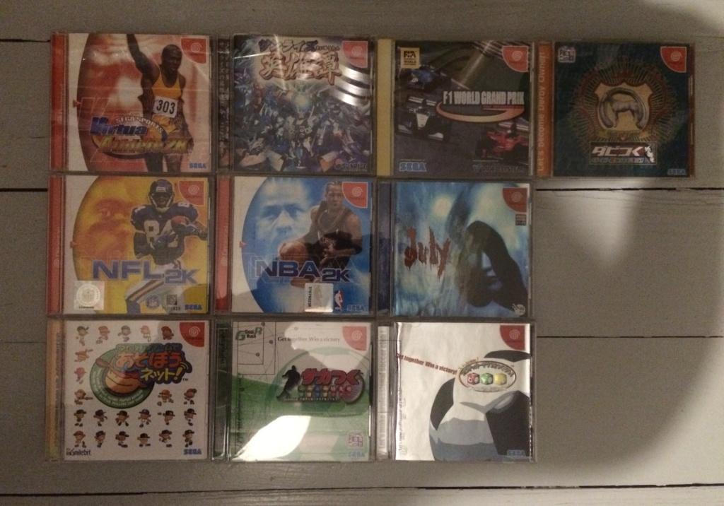 [ VDS ] Gros lot de 60 jeux Sega Dreamcast JAP  Img_3315