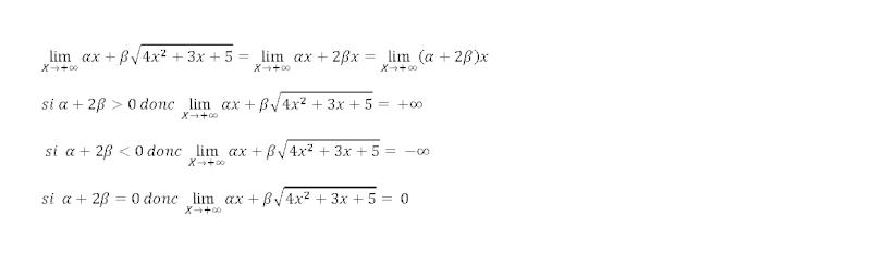 calculer limite Limite10